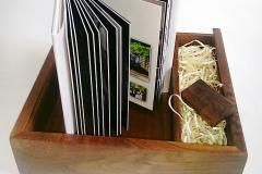 Wooden Box & USB