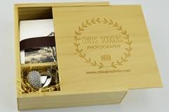 Wooden box & Jewelled USB